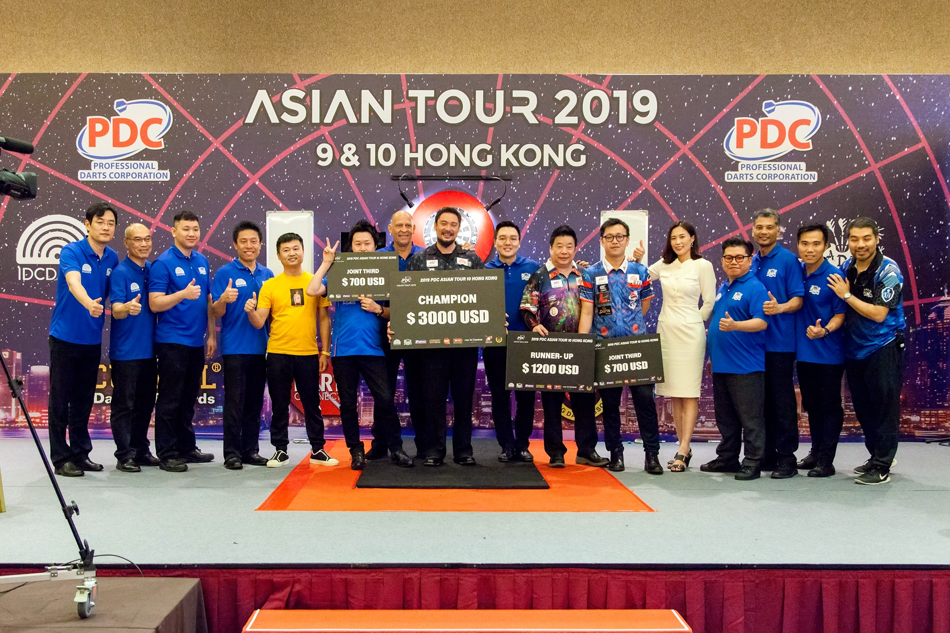 【PDC Asian Tour 2019】STAGE 10