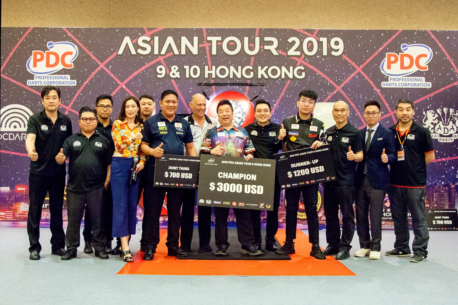【PDC Asian Tour 2019】STAGE 9