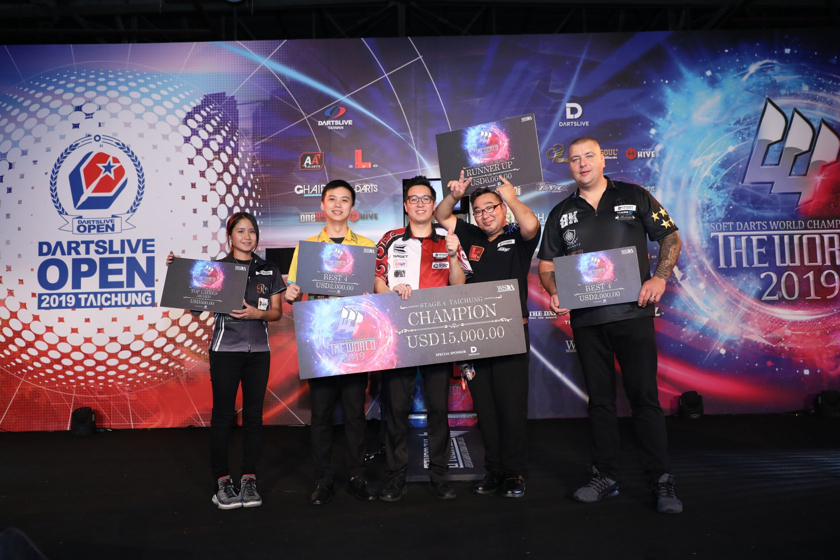 【THE WORLD 2019】STAGE 4 TAICHUNG