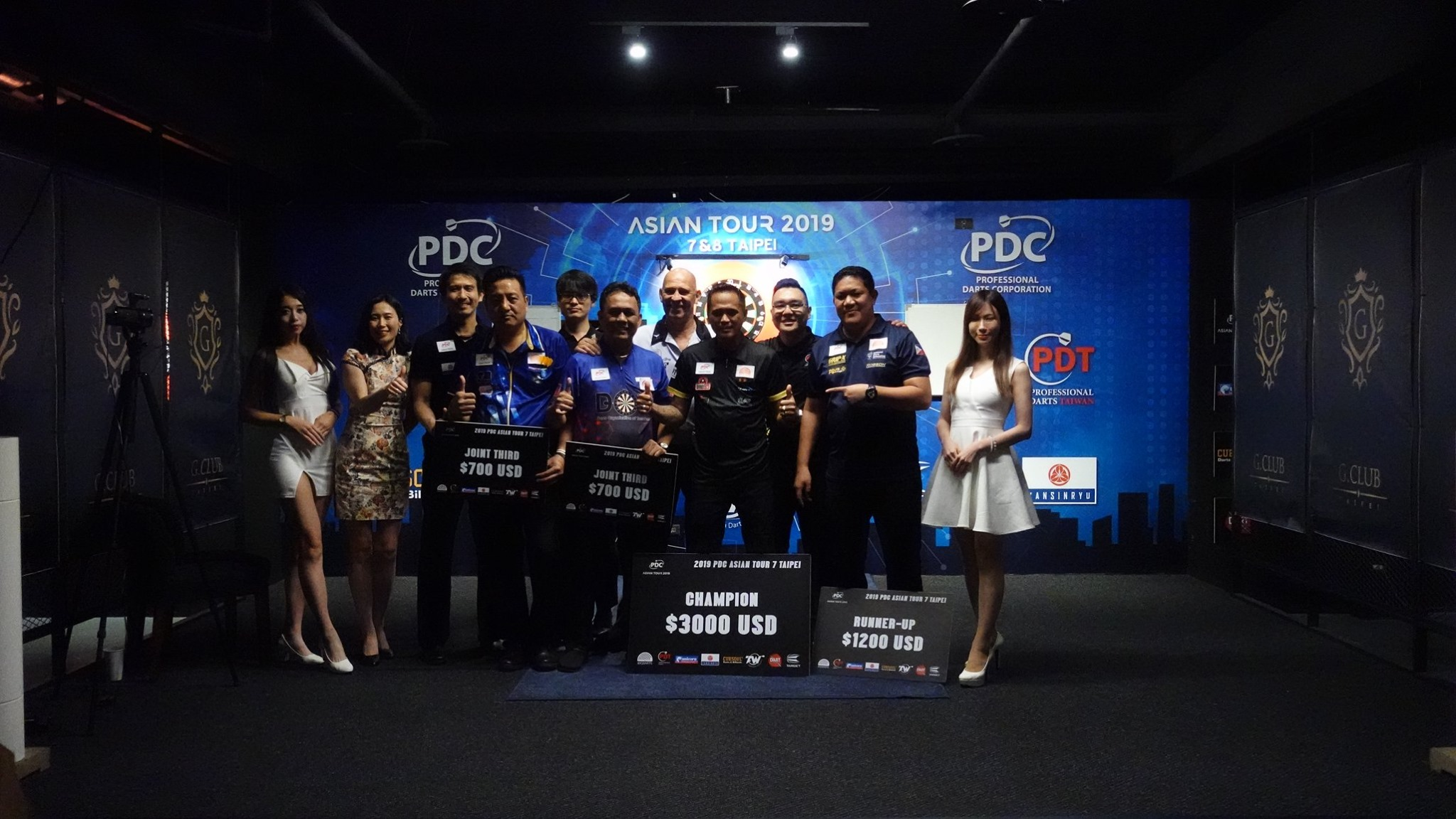 【PDC Asian Tour 2019】STAGE 7